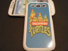 TEENAGE MUTANT NINJA TURTLES SAMSUNG GALAXY S3 SIII CASE TMNT michelangelo donatello raphael Leonardo HARD PLASTIC CASE COMES IN BLACK OR WHITE All our phone covers are printed using a process called Sublimation. Sublimation is a process which fuses a specialized ink into the...