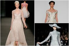 Aisle Style – bridal inspiration from New York Fashion Week