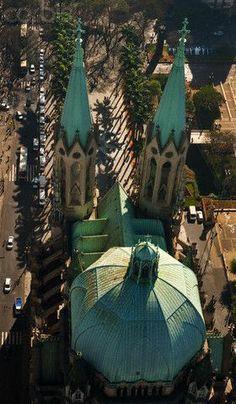Catedral da Sé, São Paulo, SP  Brazil.
