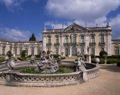 2. Rococo - National Palace Rococo Architecture Quelez Lisbon Portugal