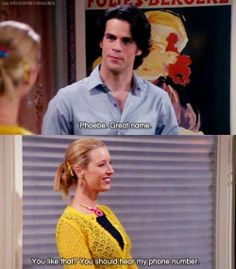 Pick Up Lines by Phoebe :)