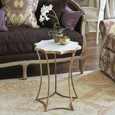 Aster Side Table by Ballard Designs  I  ballarddesigns.com Great selection of side tables