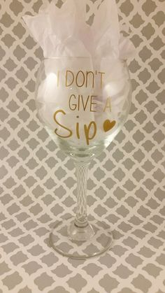 I Don't Give A Sip by LowTideCrafters on Etsy