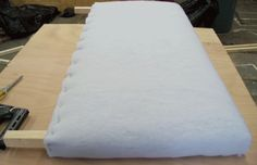 Ana White   Build a Toddler Upholstered Bed   Free and Easy DIY Project and Furniture Plans