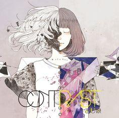 まじ娘、デビューアルバム「Contrast」にホリエアツシ提供曲も(画像 1/3) - 音楽ナタリー Anime Kunst, Anime Art, Ying Y Yang, Dark Fairytale, Moss Art, Design Art Drawing, Mini Canvas Art, Manga Love, Pictures To Draw