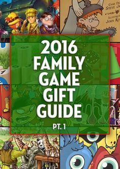 We break down some of the best family games of 2016 that certainly should be in your collection! - SahmReviews.com