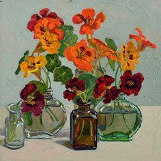 Lucy Culliton (b.1966) — Flowers III (800x800)