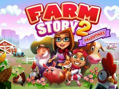 Farm Story 2: Valentines by TeamLava. Farm Builder Apps.