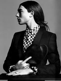 Ezra Miller: L'Uomo Vogue | wannafeelit