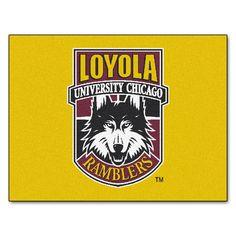 Sports Licensing Fanmats Loyola University Chicago Nylon Allstar Rug