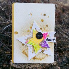Always star card  #papercrafts #card making #stamps #스탬프아트카드 #수제카드 #카드메이킹 #로이공작소
