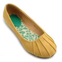 Ollio Women's Ballet Shoe Comfort Faux Suede Flat : Amazon.com