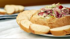 Nosh on the Ultimate Game-Day Treat: Hoagie Dip: What if you took an epic party sub and transformed it into a bold, chunky dip?