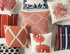 Williams-Sonoma, decorative pillows on williams-sonoma.com/