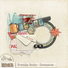 kimeric kreations: An Everyday Stories cluster from Jenni tonight - - have a wonderful Memorial Day!
