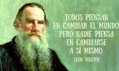 15 Frases célebres de León Tolstói