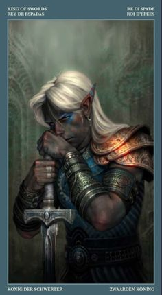 m Drow Elf Fighter Plate Armor Sword portrait - realistic skintone bright armor, inspiring. Dark Elf Warrior with Two Handed Sword by Paolo Barbieri Fantasy Races, High Fantasy, Fantasy Warrior, Fantasy Rpg, Medieval Fantasy, Fantasy Artwork, Fantasy World, Wolf Artwork, Elves Fantasy