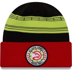 ae1ee860afe69b Men's Atlanta Hawks New Era Red 2018 Tip Off Series Cuffed Knit Hat, Your  Price: $29.99