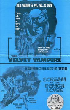 The Velvet Vampire / Scream of the Demon Lover