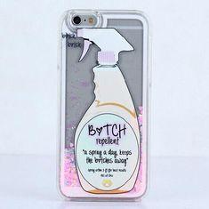 Glitter Bitch Repellent Spray Liquid Case