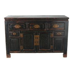 Long Chinese Dresser