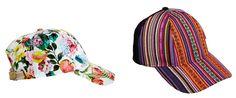 Gorras planas para la mujer