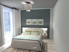Des nuances douces pour cette #chambre parentale située à Courbevoie. Tiphanie travaille les éléments naturels pour donner de la chaleur à la pièce