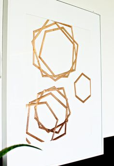 DIY Copper Tape Art