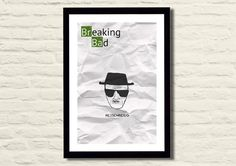 Breaking Bad Poster Art Print 11 X 17 by LiltDesignCompany on Etsy, $23.00