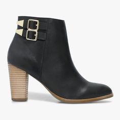 a3f0b51527c1e5 Boots talon femme Boots Talon Femme, Bottines Basses, Talons Plats,  Prendre, Fait