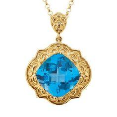 Victorian Topaz - Knox Jewelers - Minneapolis Minnesota - Color Pendants - Large Image