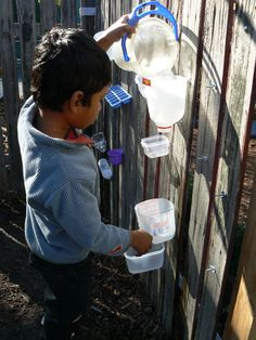 DIY Water Wall by irresistibleideas #Kids #Water_Wall #irresistibleideas