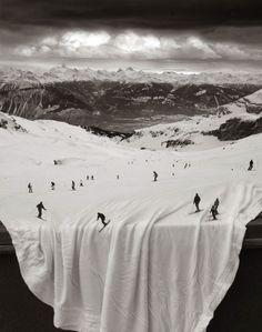 境界線がわからなくなる、シームレスな錯視的幻想世界絵図 : カラパイア