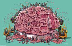 Diariamente bombardean nuestro cerebro con marcas que nos crean necesidades innecesarias, para que nos sintamos obligados a consumir.