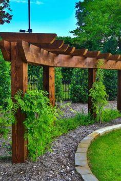 20 Fresh Design Ideas for Arbors, Arches + Pergolas   HGTV