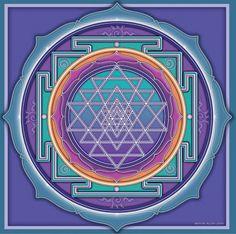 La Visión del Corazón: El Shri Yantra, la unión de los aspectos femenino y masculino de la divinidad