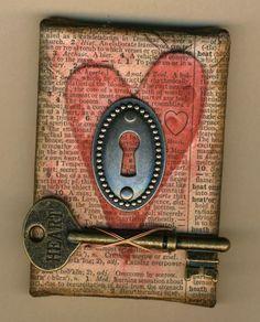 Key to my heart block (not original source)