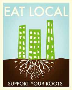 Want to see a world where everyone has access to food? It starts local.  Who is planting seeds for your growth?  Multi-national agricultural monoliths or your neighborhood farmer friend? One instills roots for profit, the other for sustainability.  It our choice which world we want to support.  What kind of growth are you rooting for?