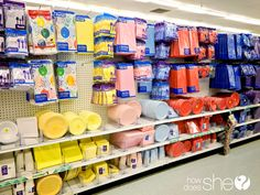 What to buy at the dollar store. The top 10 dollar store buys. Sorting the trash from the treasures at the dollar store can be tedious and result in. 10 Dollar Store, Dollar Store Crafts, Pop Baby Showers, Elegant Baby Shower, Plastic Tables, Blue Birthday, Card Box Wedding, How To Make Paper, Frugal Living