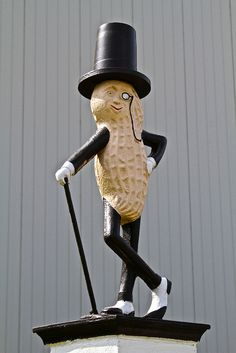 Planter's Mr. Peanut. Factory in Suffolk, VA