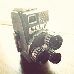 From my collection: Mansfield Holiday II 8mm movie camera, circa 1950 | In working condition