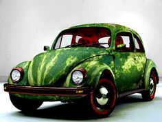 Watermelon Car VW