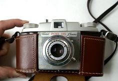 Vintage Kodak Camera Pony 135 Model C with Leather Case by RinnovatoVintage.etsy.com