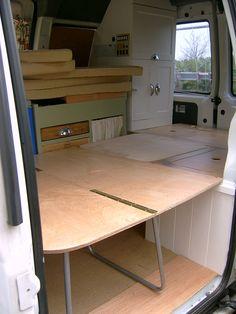 Camper Van Conversion Fold Out BedI Was Designing Something