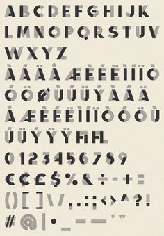 Display font inspired by French decorative alphabets from the 40s and 50s call Fancy Antique Display, from the Infamous Foundry.