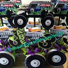 Grave Digger Centerpieces Follow Me On Instagram Nata271