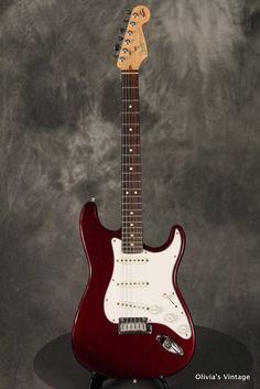 Fender 40th Anniversary Stratocaster 1994 Midnight Wine