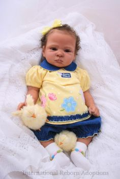 LIAM ethnic reborn baby doll by Phil Donnelly