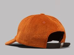 Norse Projects Corduroy Sports Cap (Pure Umber)