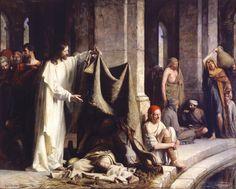 "Carl Bloch - ""Christ Healing the Sick at Bethesda"" - 1883"